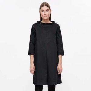 Cos Standing Collar Cotton Dress